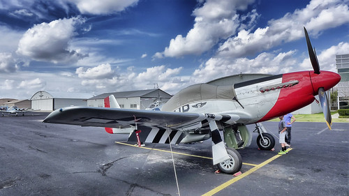 P-51 at Stinson Field