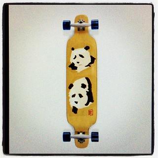 #longboard #panda
