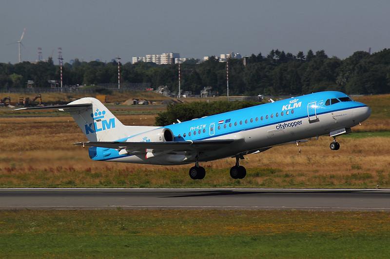 KLM - F70 - PH-KZW (1)