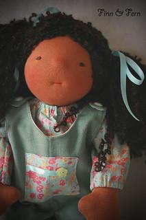 Cecilia - a 17 inch Waldorf Inspired Doll