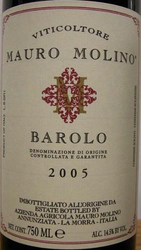 Viticoltore Mauro Molino Barolo DOCG 2005