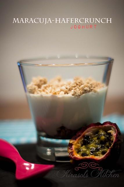 Maracuja-Hafercrunch-Joghurt