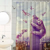 I'm now a proud owner of this shower curtain by bajinganbermoral