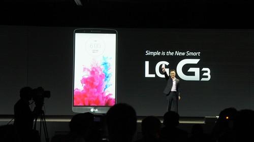 LG G3 pristatymas Londone: genialu, kas paprasta?