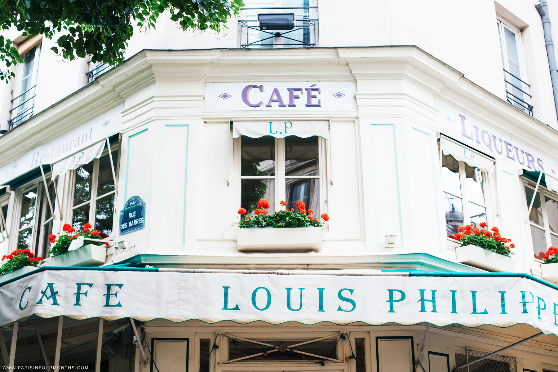 Café Louis-Philippe by Carin Olsson (Paris in Four Months)