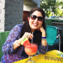 #margaritas on the patio with my babe. Life's good #beautiful