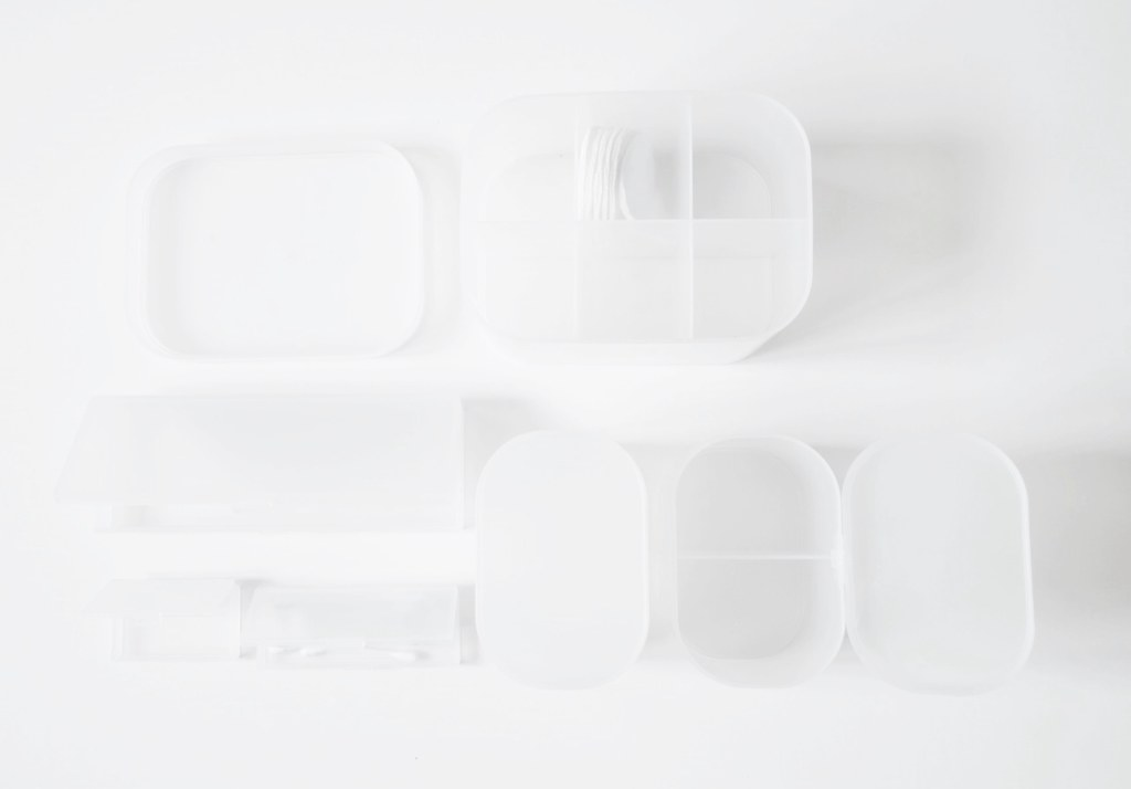 Muji vacation set packning light