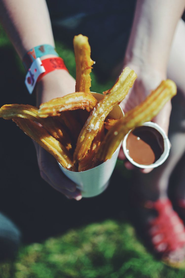camp bestival churros