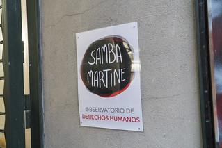 Presentación del Observatorio de Derechos Humanos Samba Martine