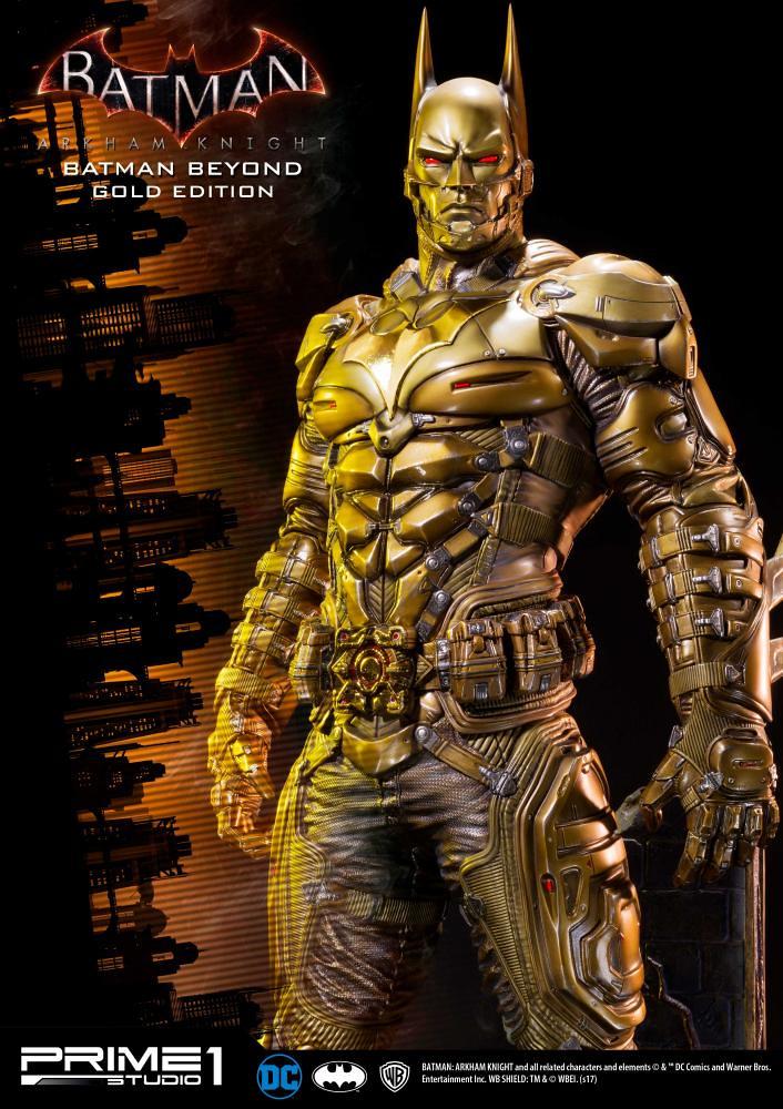 Prime 1 Studio 蝙蝠俠:阿卡漢騎士【黃金未來蝙蝠俠】Batman Beyond Gold Edition 1/3 比例全身雕像作品