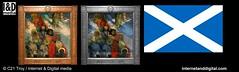 The Druids: Bringing In The Mistletoe? - Hermetic Symbolist Flag