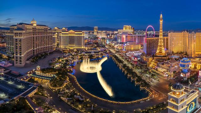 Las Vegas Viewed From The Cosmopolitan