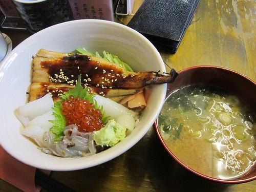 IMG_5120 地魚丼@鮨季節料理ささき/大船渡市 2013年4月21日13:41 by Poran111