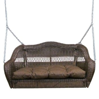 resin wicker porch swing costco