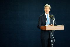 Secretary Kerry Addresses Reporters in Tel Aviv