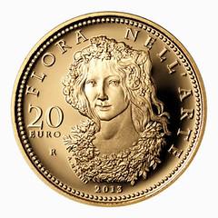 Italy 20 Euro Flora obverse