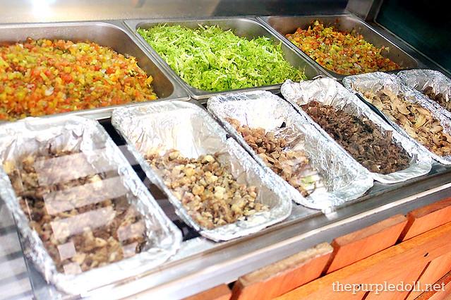 Silantro's Lucha Tacos Ingredients Kapitolyo