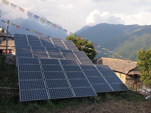 Solar panels Ghondruk 2