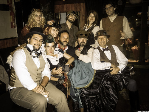 SteamPunk Party Goes On
