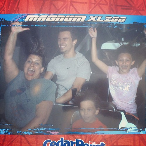 Perfect day for Cedar Point. Got right on all the rides! Only 15 minutes for Gatekeeper!