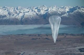 谷歌计划用热气球提供wifi网络