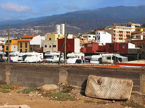 Campsite in Puerto de la Cruz, Tenerife
