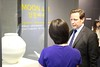 Minister Ed Vaizey discussing the Moon Jar and UK/Korea relations by kccuk