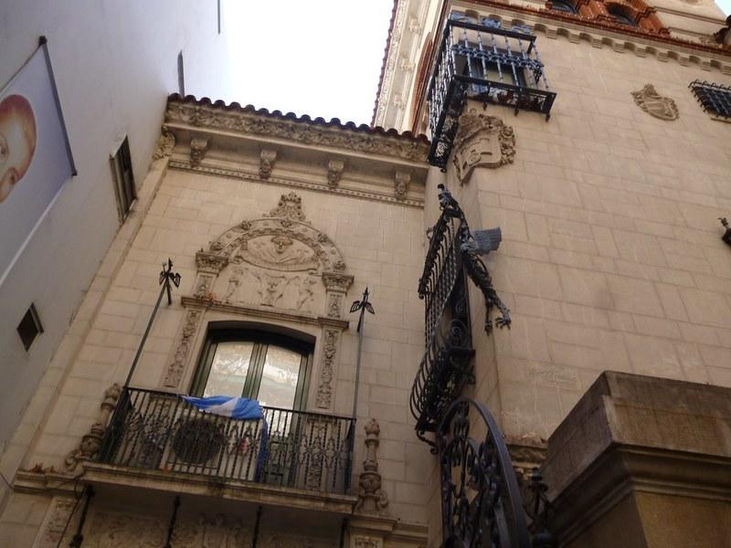Facade of Evita Museum, Buenos Aires