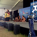 University of Hawaii faculty and their ohana share Hawaiian oli and hula with Smithsonian Folklife Festival audiences.