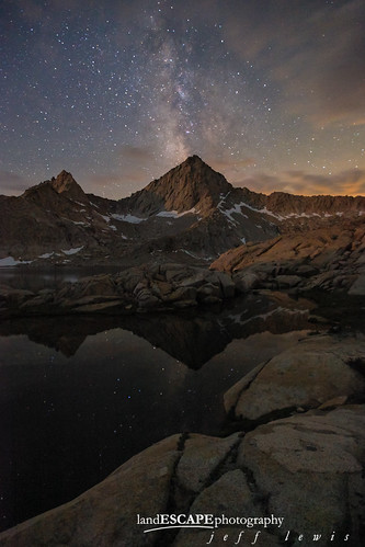 Granite Paradise (Milky Way over the Sierra Backcountry)