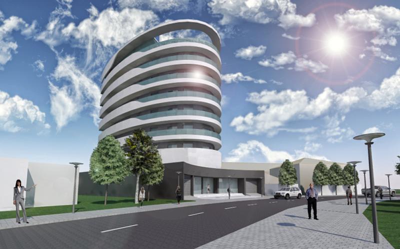 Edifício Multi-Usos no Soyo