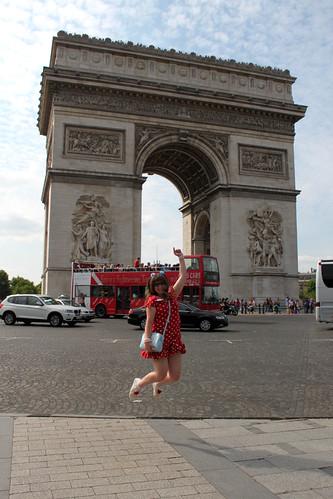 Arc de Triomphe Jump