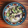 #bestbreakfastcombo #eggs + black beans + #avocado + salt  #MMmm!