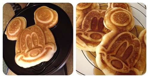Mickey Mouse Waffles by Digital Heather