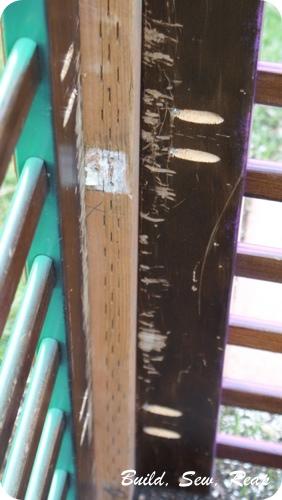 Crib Parts Fence 15