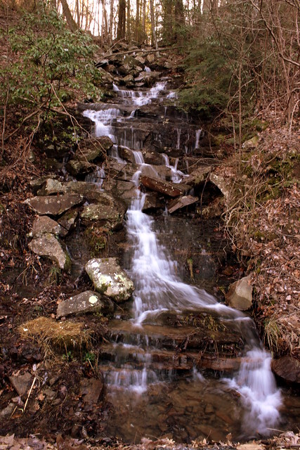Unnamed waterfall two seen along the old Dixie Highway | Flickr ...