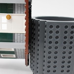 ThinkGeek - Build-On Brick Mug