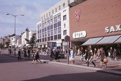 St. Stephens Street, Norwich, October 1966.