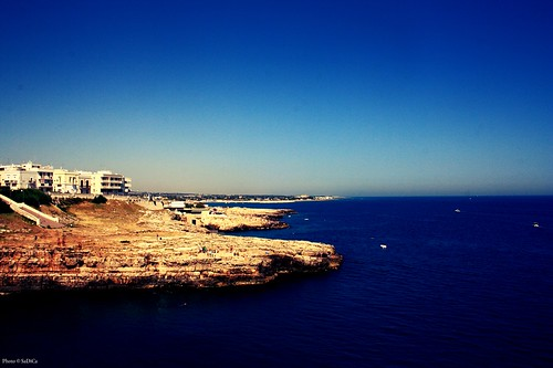 Polignano a Mare - Scogliera