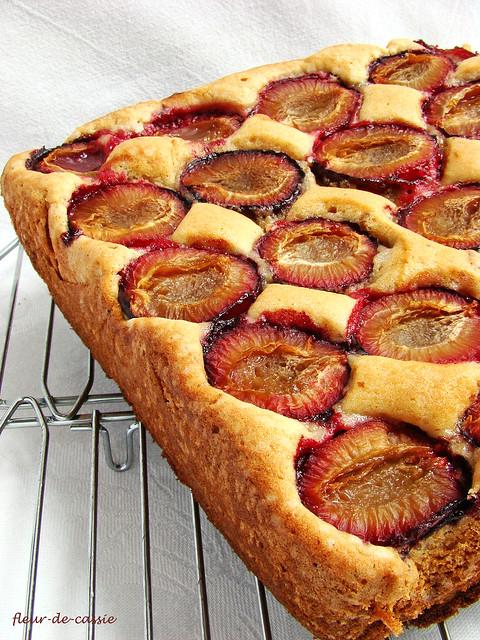 сливовый пирог Дори 1