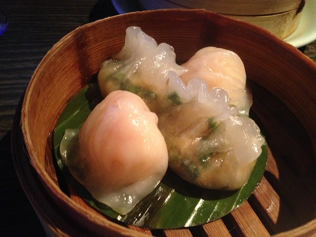 Har gau and Steamed special fen guo dumplings - Yauatcha