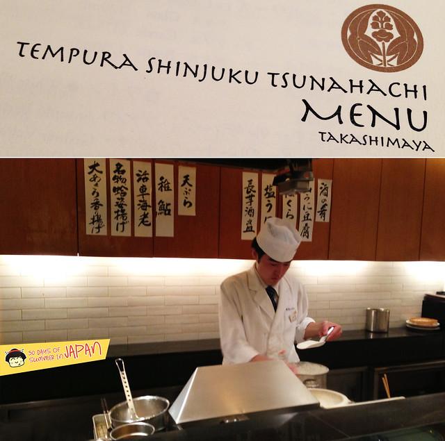 Tempura Tsunahachi - Shinjuku - Takashimaya