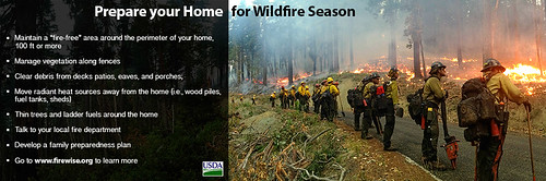 Prepare your home and family for wildfire season.