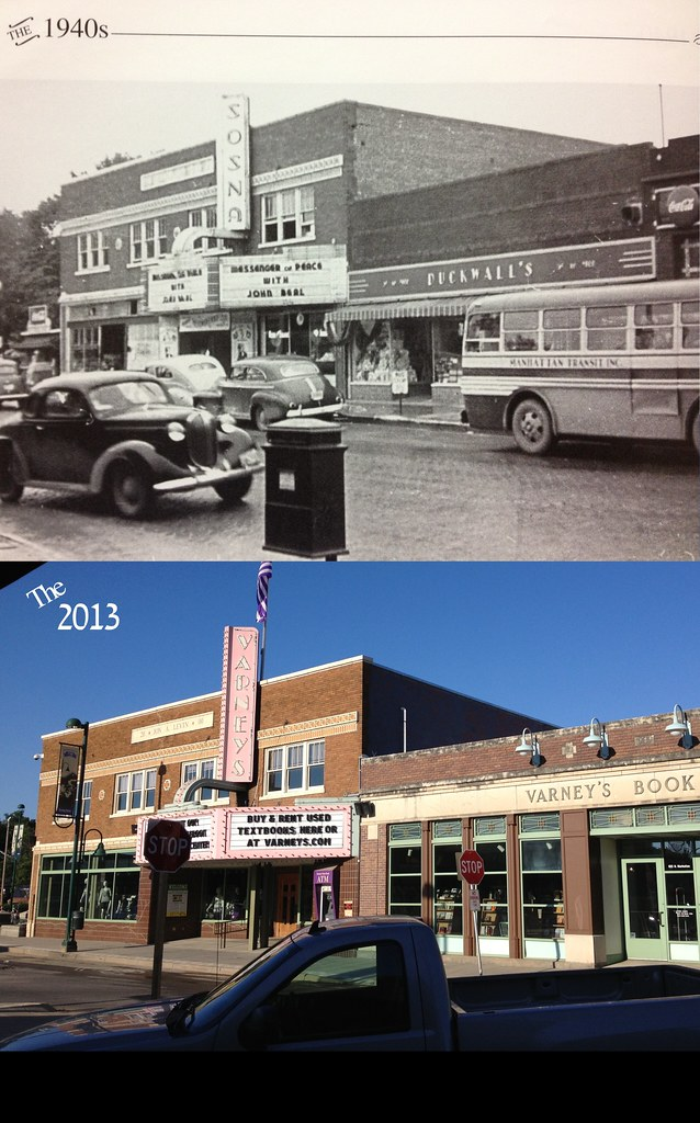 Aggieville 1940and2013