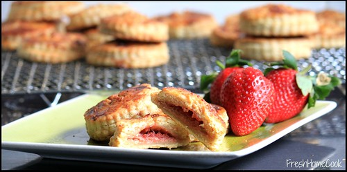 Strawberry, Apple & Ricotta Parcels