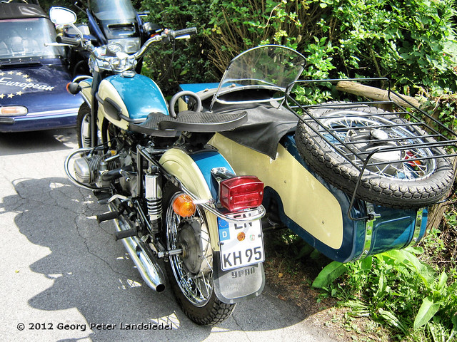 motorrad mit beiwagen witten zeche nachtigall 3354 2012 08 11 flickr photo sharing. Black Bedroom Furniture Sets. Home Design Ideas