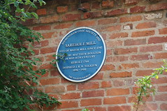 Photo of Sarehole Mill, John Ronald Reuel Tolkien, and Matthew Boulton blue plaque