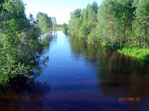 suomi finland tornio merilappi kaakamojoki kaakamojoensilta könölä