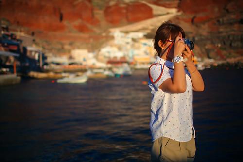 35mm 旅行 摄影 色彩 圣托里尼 希腊