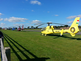 Helicopter Line Up